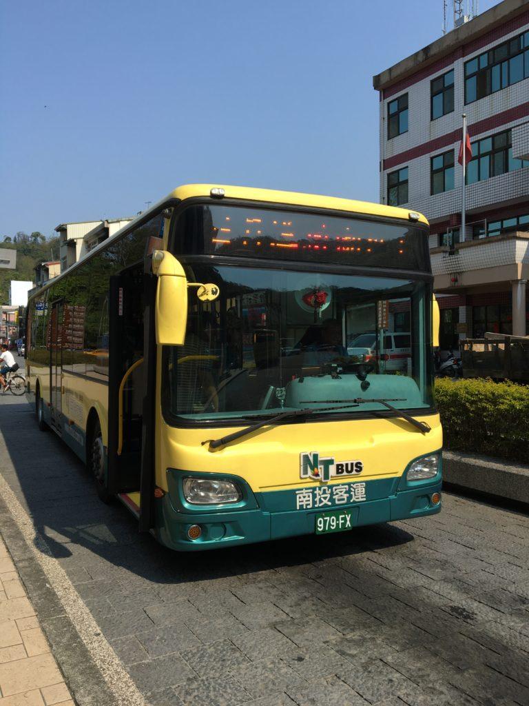 日月潭 バス