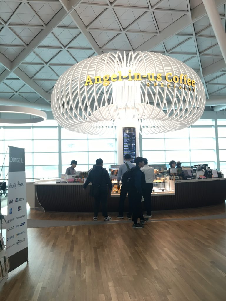 インチョン空港 ターミナル2 カフェ