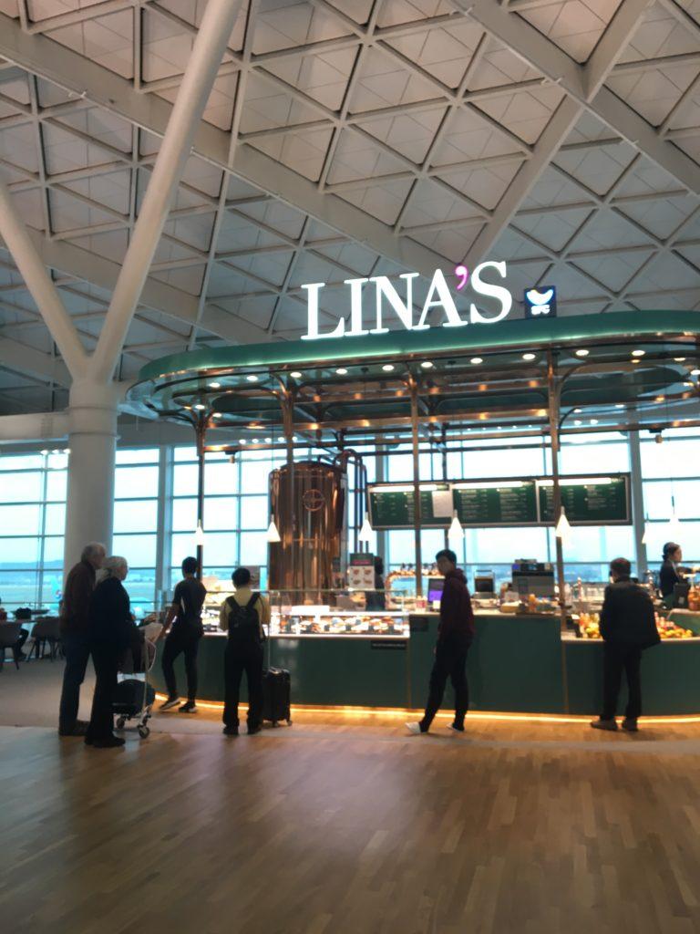 インチョン国際空港 第2ターミナル カフェ