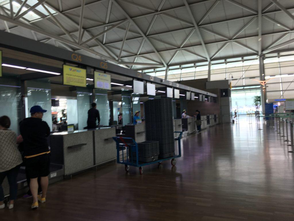 JinAir 仁川国際空港 第1ターミナル