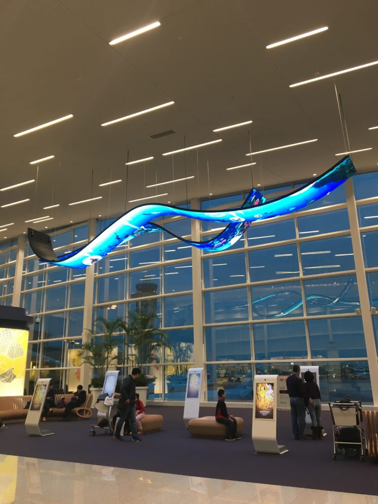 仁川空港 第2ターミナル コリアンエア Korean air