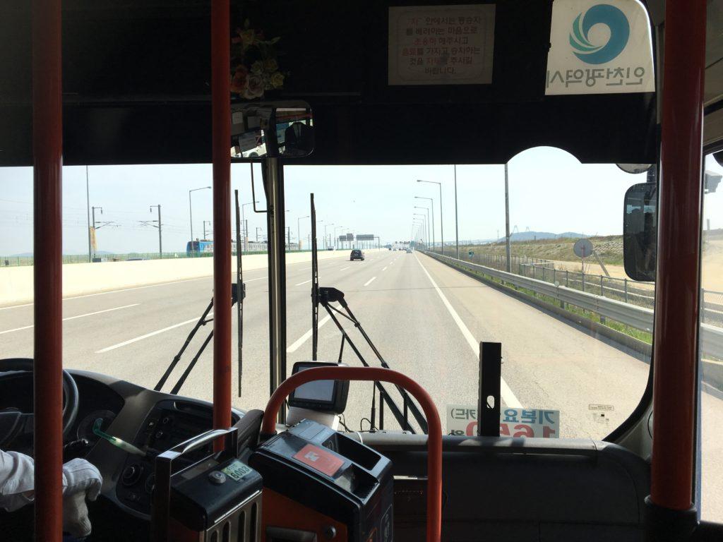 韓国 バスの乗り方