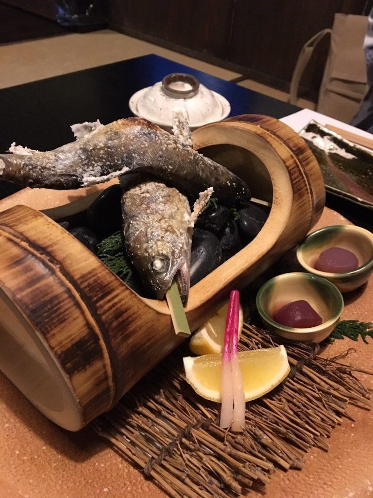 黒川温泉 旅館 新明館 晩御飯