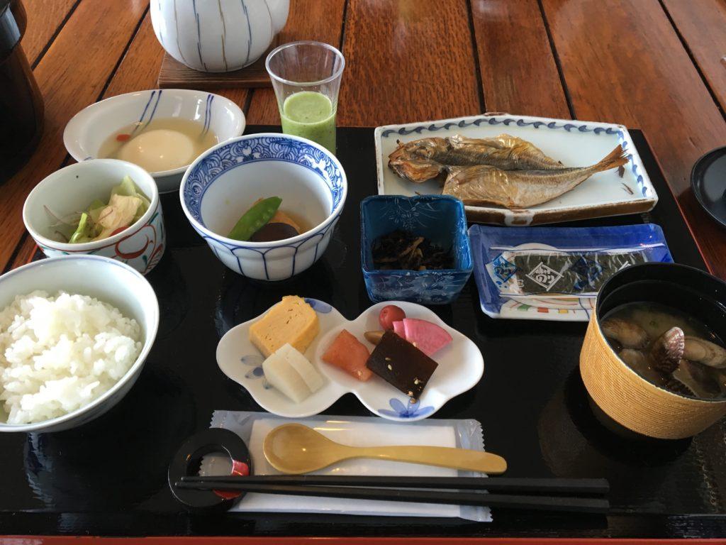 柚富の郷 彩岳館 朝食