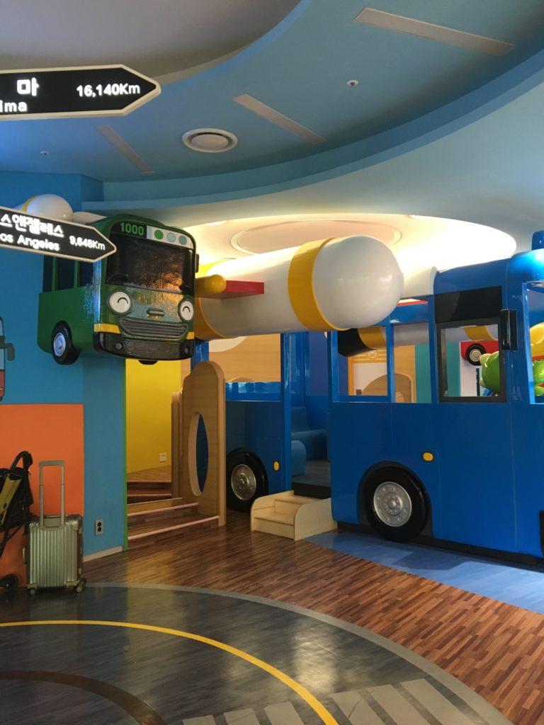 インチョン空港 ターミナル2 子供 遊び場