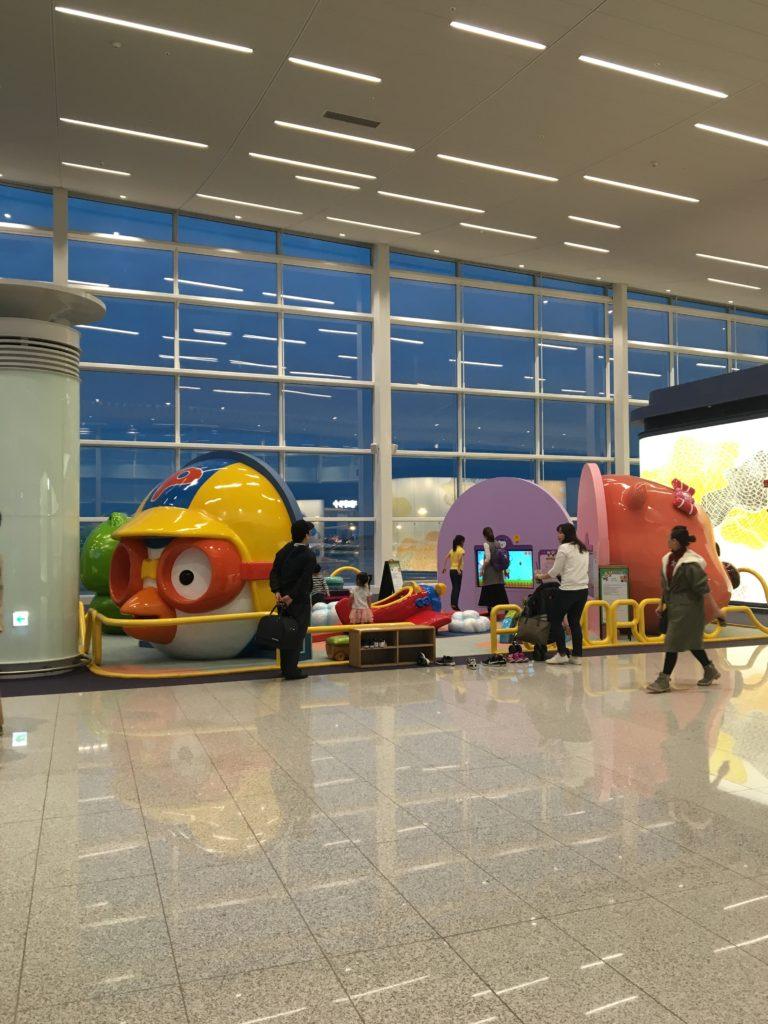 仁川空港 第2ターミナル Korean air 乗り継ぎ