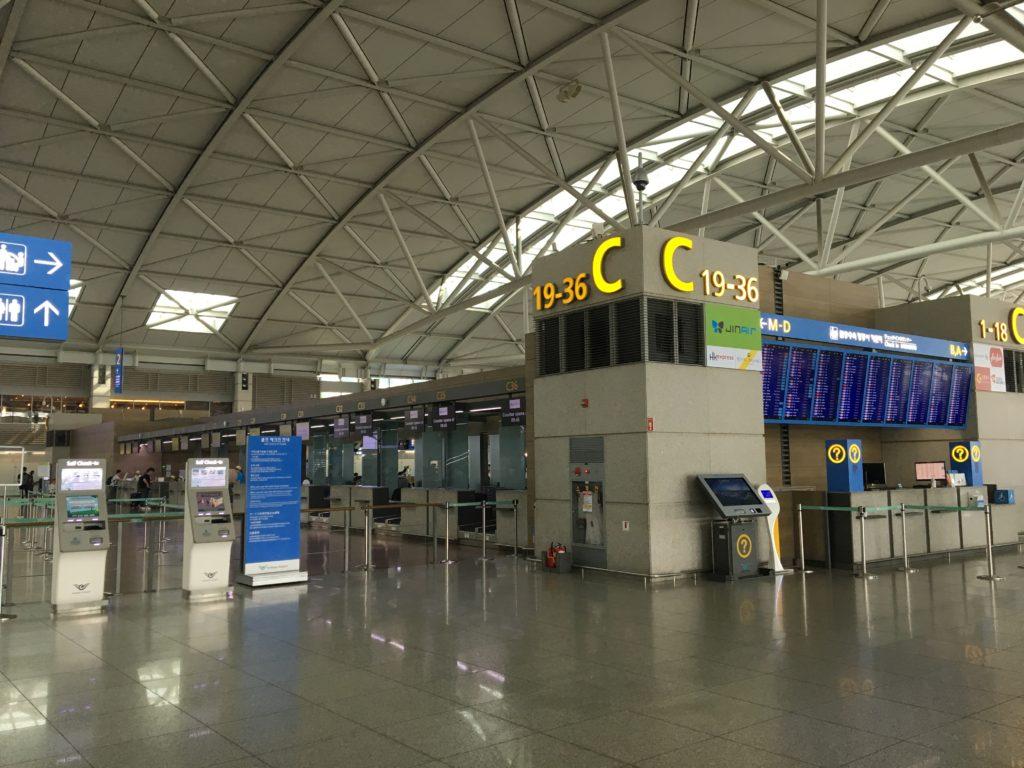 JinAir 仁川国際空港 ターミナル1