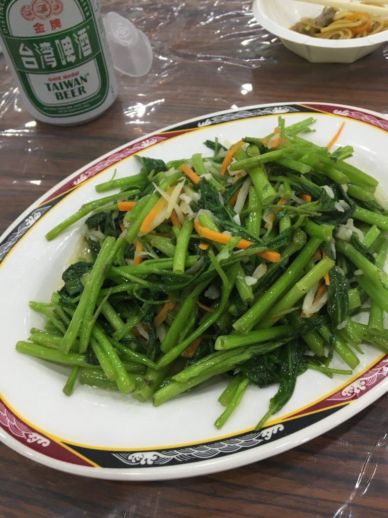 名勝風味餐館 空芯菜