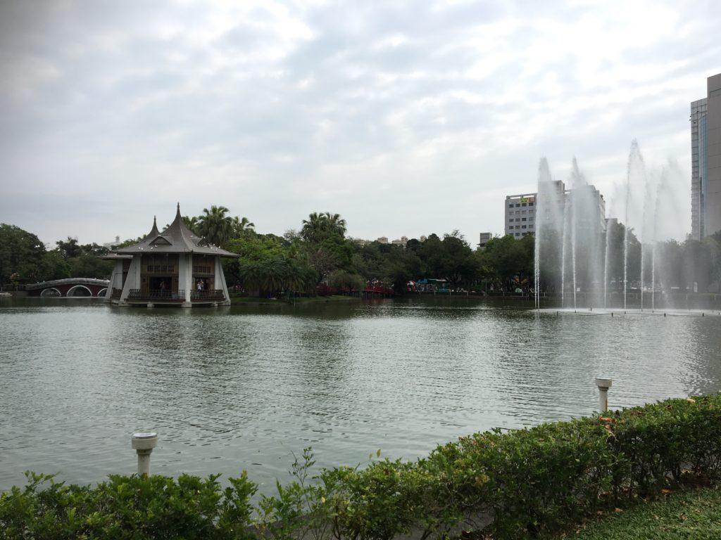 台中 公園 噴水