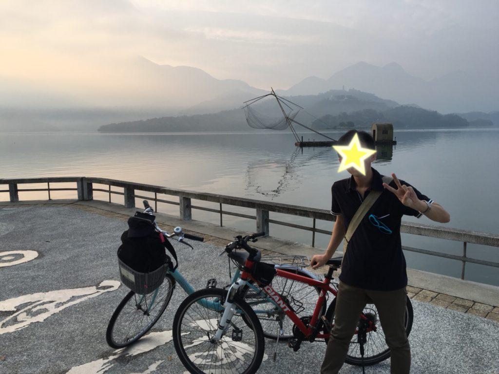 日月潭 サイクリング