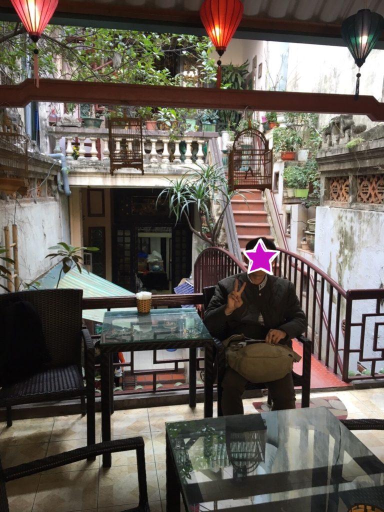 ハノイ 隠れ家 カフェ