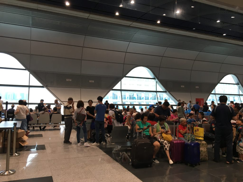 香港 ドリームクルーズ ワールドドリーム号 ターミナル