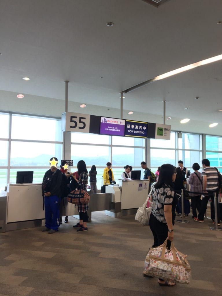 香港エクスプレス オンラインチェックイン 福岡空港