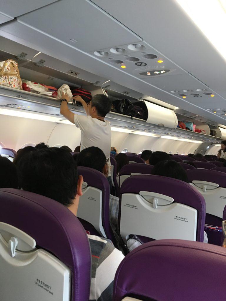 香港エクスプレス 機内持ち込み 機内