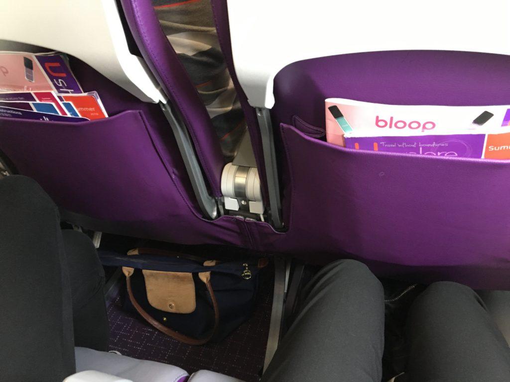香港エクスプレス 機内 座席