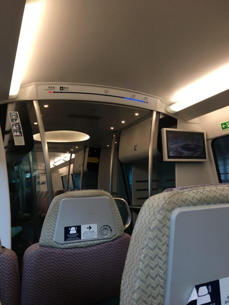 九龍駅 香港国際空港 電車