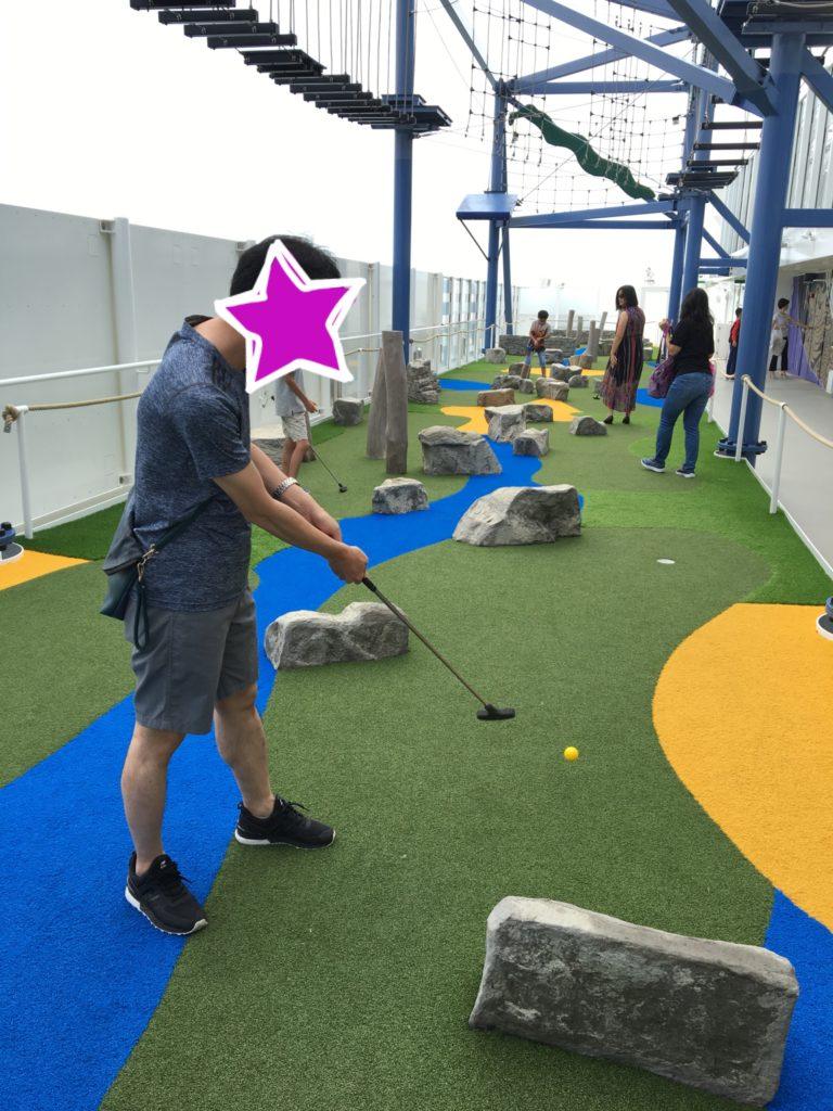 ワールドドリームクルーズ パターゴルフ ゴルフ