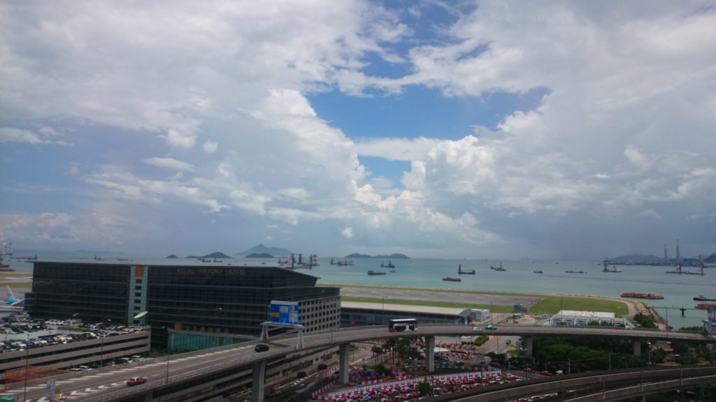 香港空港 第2ターミナル 展望台