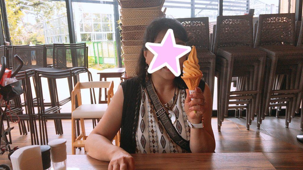 青島屋 ソフトクリーム