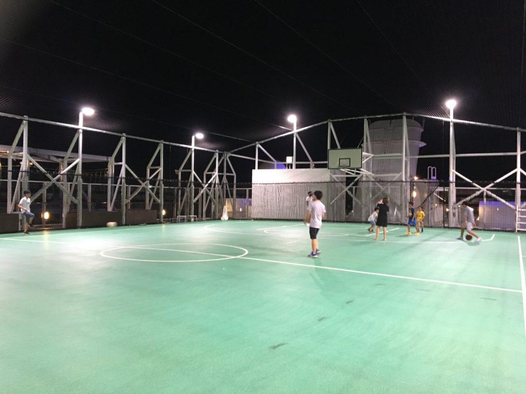 香港 クルーズ バスケット サッカー