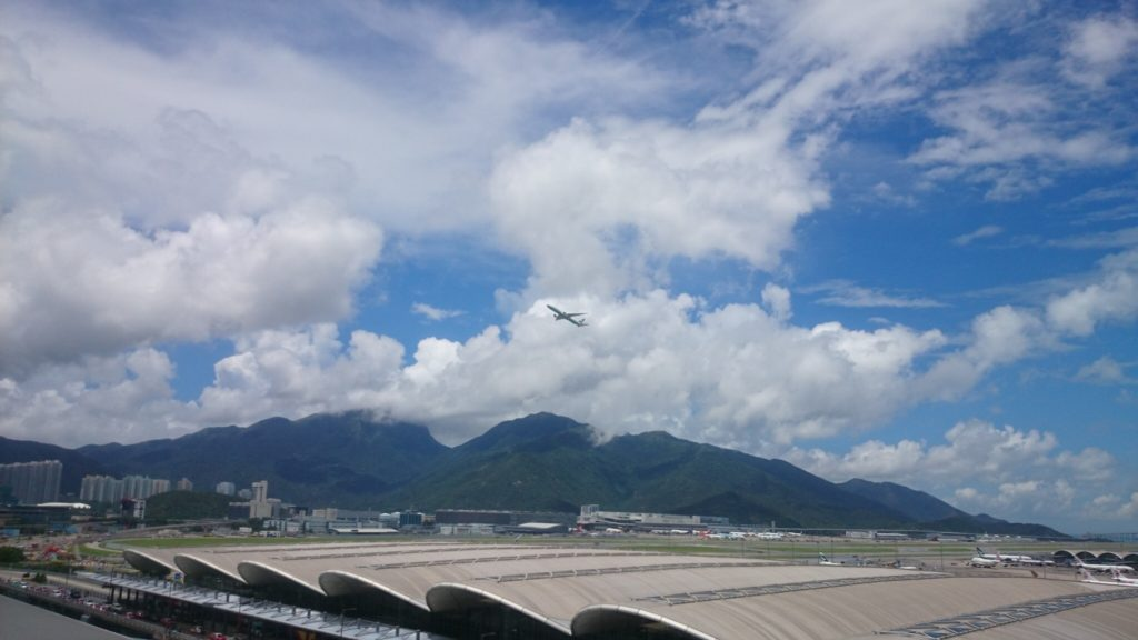 香港空港 遊ぶところ 展望台