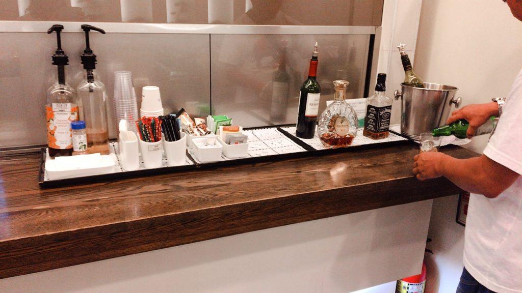 釜山 空港 ラウンジ お酒 アルコール