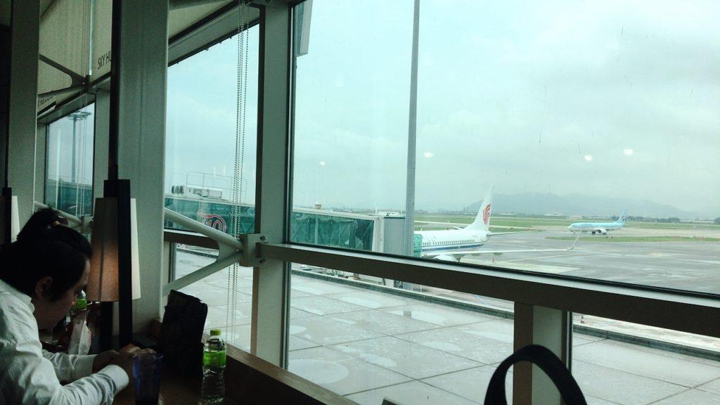 釜山 スカイハブラウンジ 金海空港 プライオリティパス
