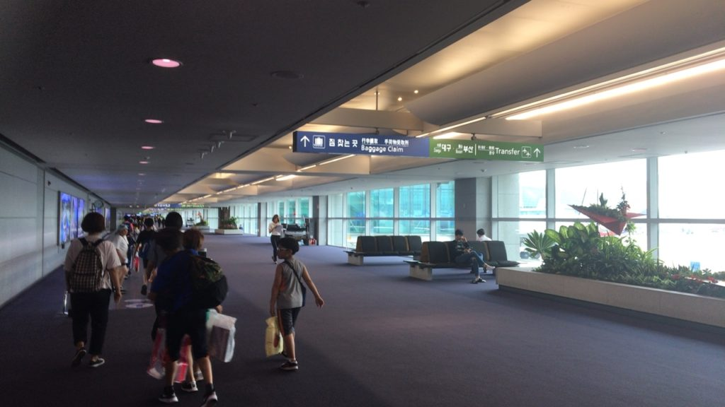乗り継ぎ 仁川国際空港