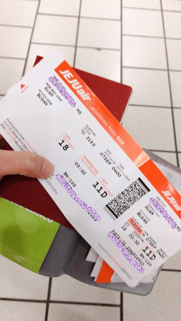 グアム国際空港 jeju航空 チェジュ航空