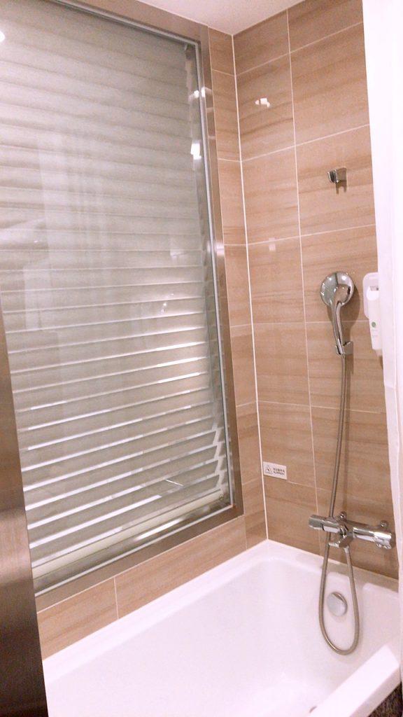 Stanford Inn Busan スタンフォードイン釜山 シャワー