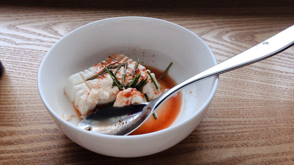 釜山 スカイハブラウンジ 豆腐
