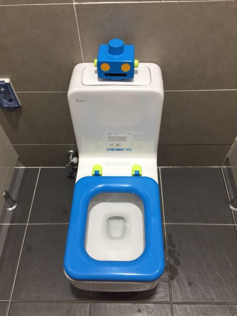 釜山国際港 トイレ