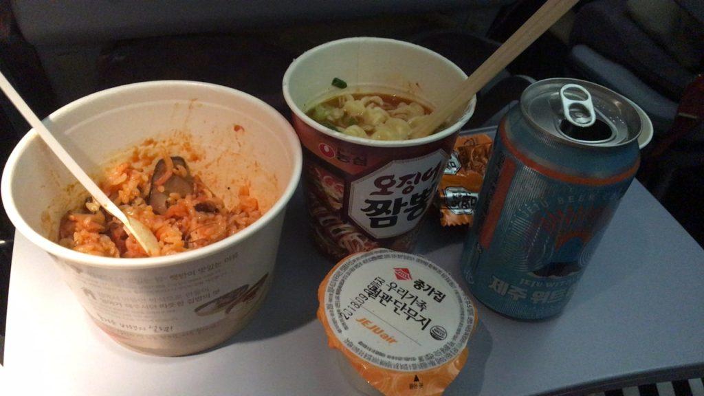 チェジュ航空 機内食