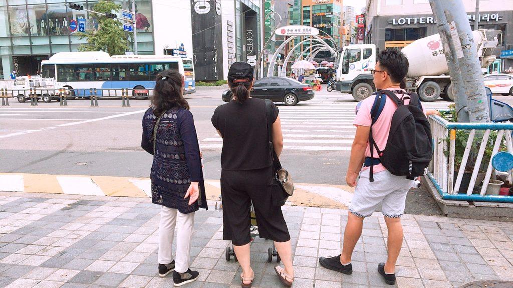 釜山 子ずれ 旅行