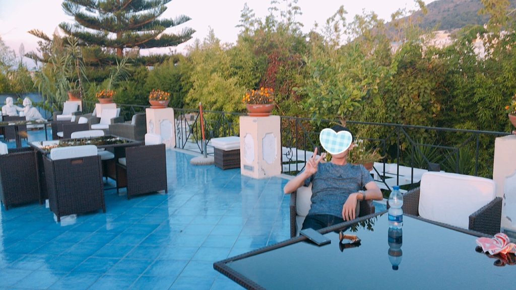 ホテル カプリ島 Hotel Busola di Hermes