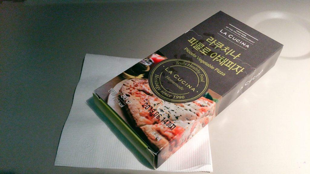 仁川 ローマ― 機内食 軽食 ピザ