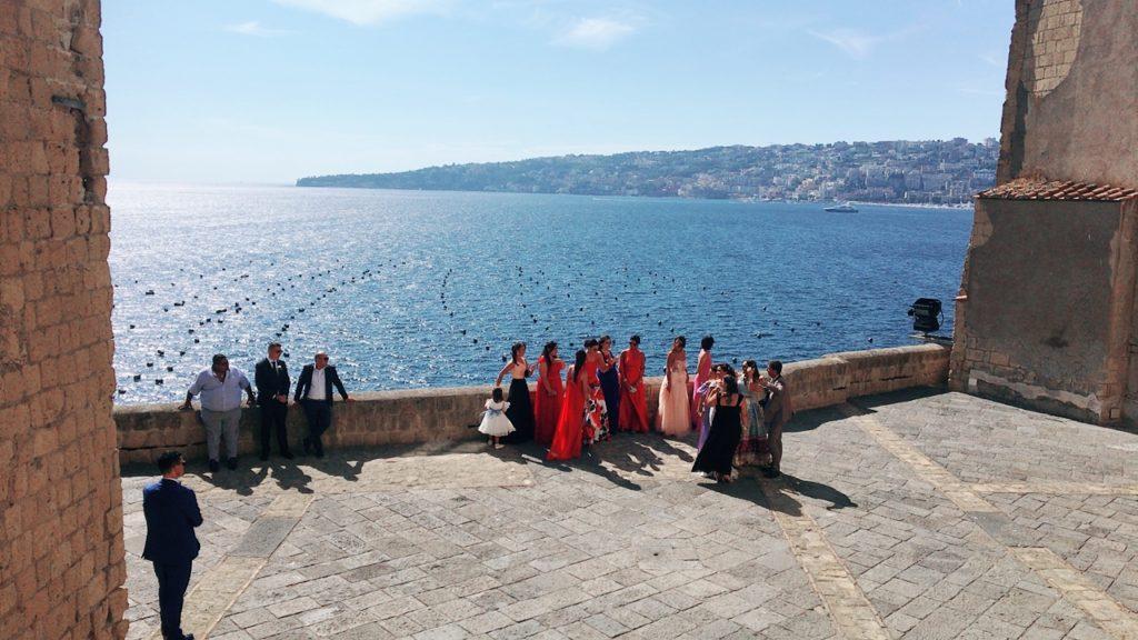 サンタルチア 卵城 カステル デローヴォ 花嫁