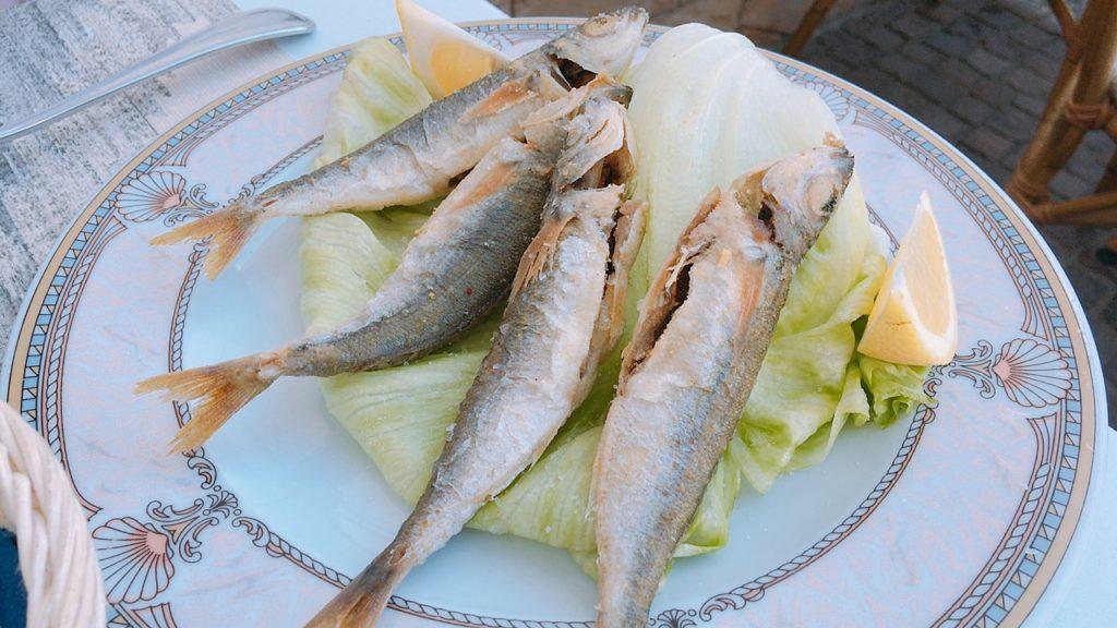 カプリ島 お昼ご飯 イタリア