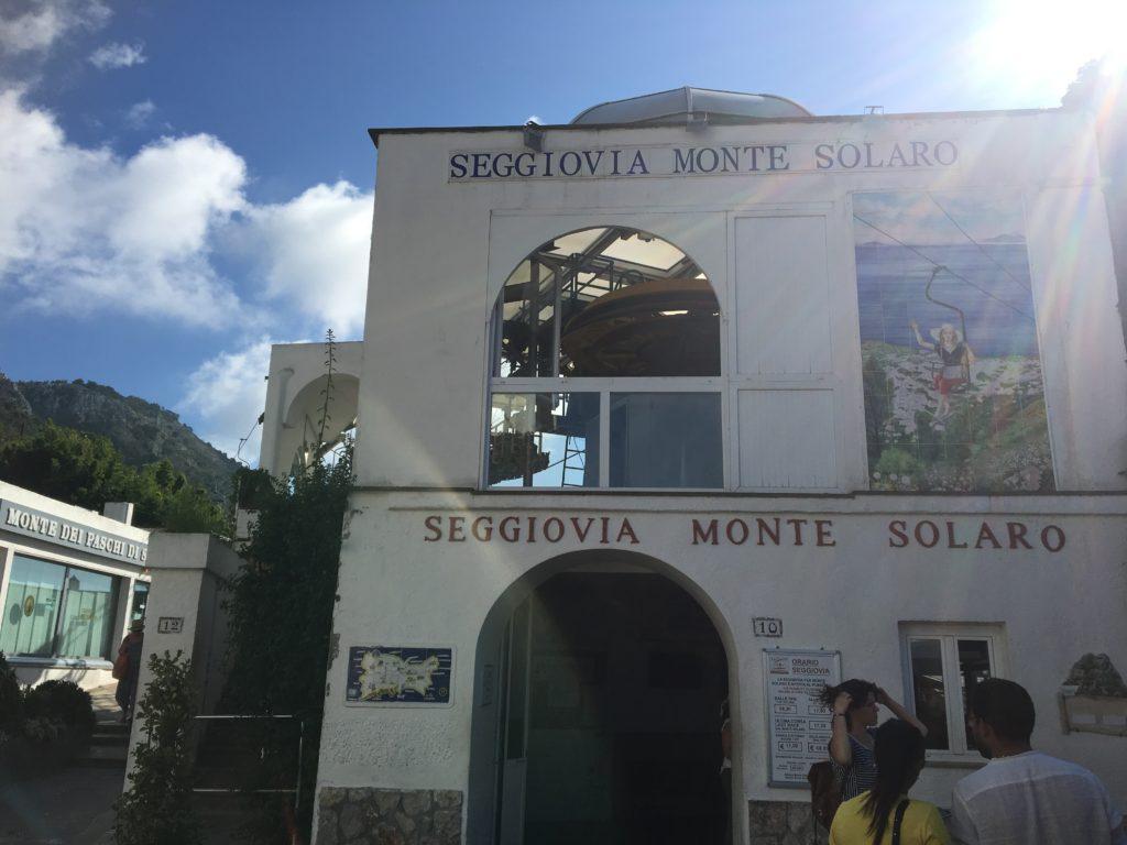 イタリア ケーブルカー ロープウェイ リフト ソラーロ山