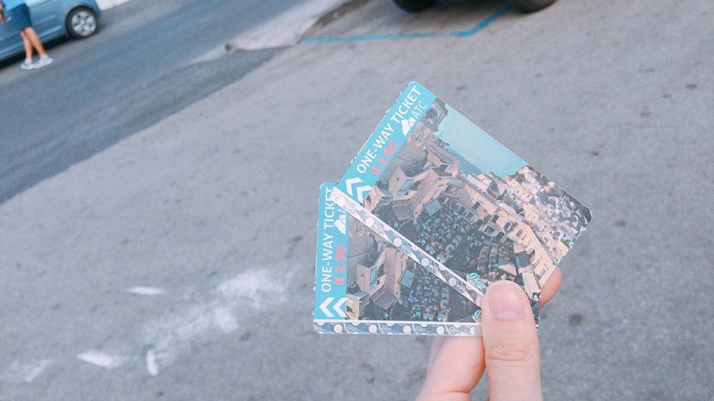 バス チケット アナカプリ