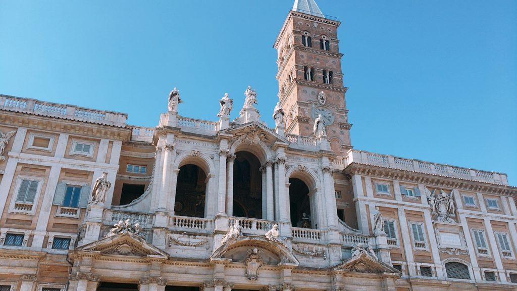 サンタ・マリーア・マッジョーレ教会 ローマ 観光