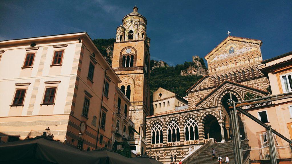 アマルフィ 観光 サンタンドレア大聖堂