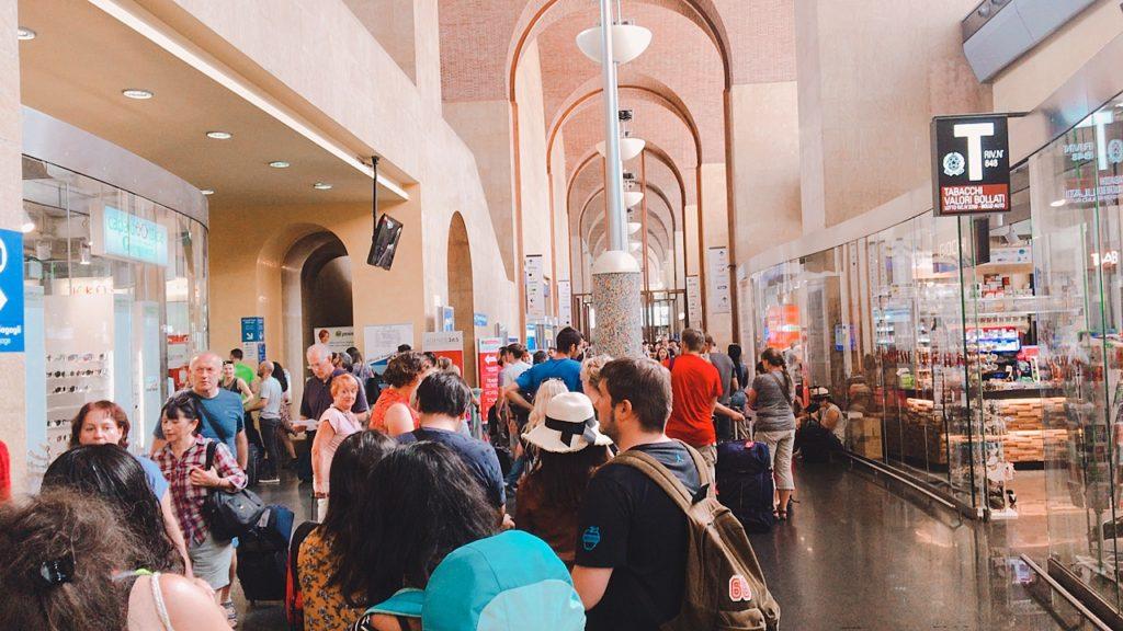 イタリア ローマ テルミニ駅