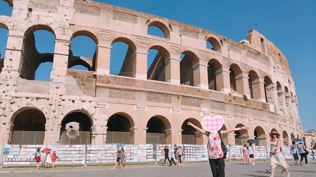イタリア ローマ 観光 コロッセオ