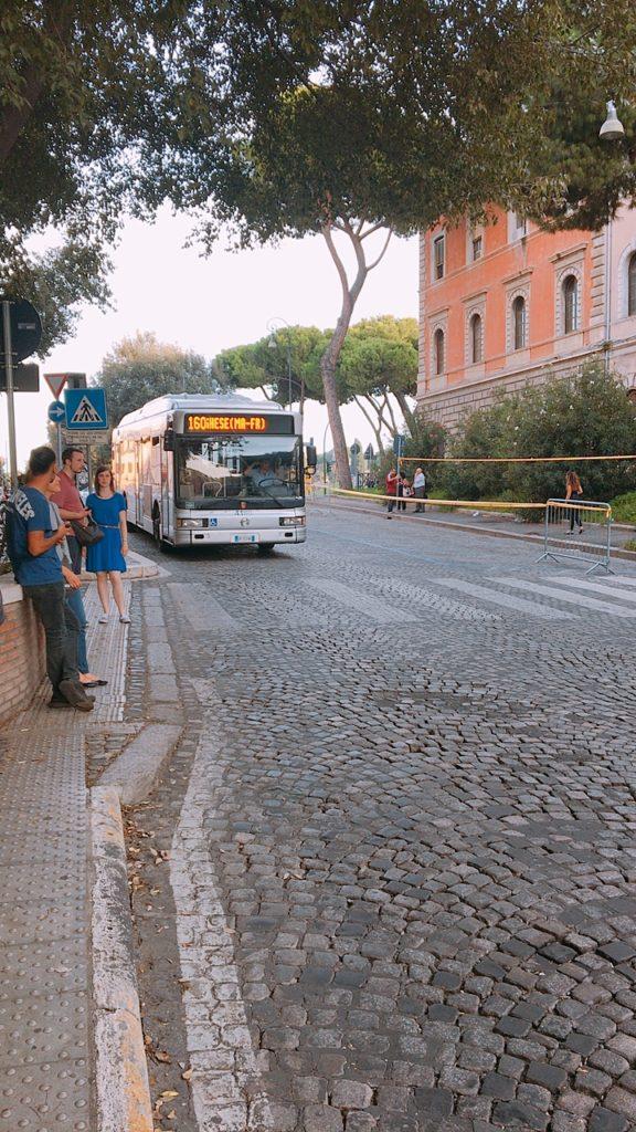 ローマ バス ローマパス