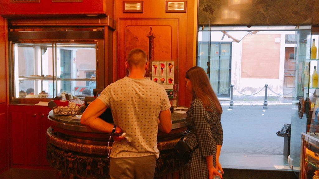 ローマ アイス 買い方