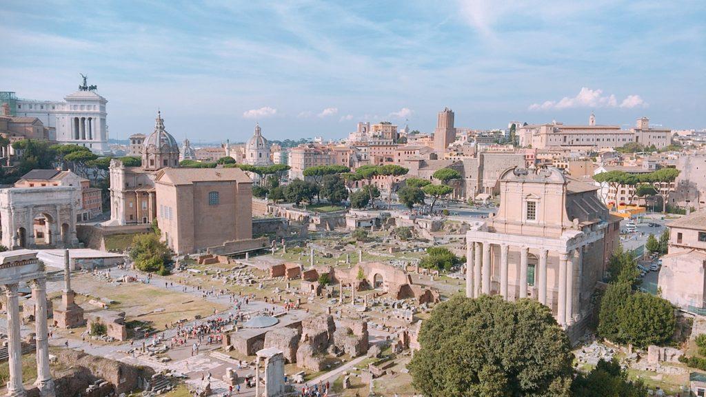 パラティーノの丘 景色 ローマ 観光