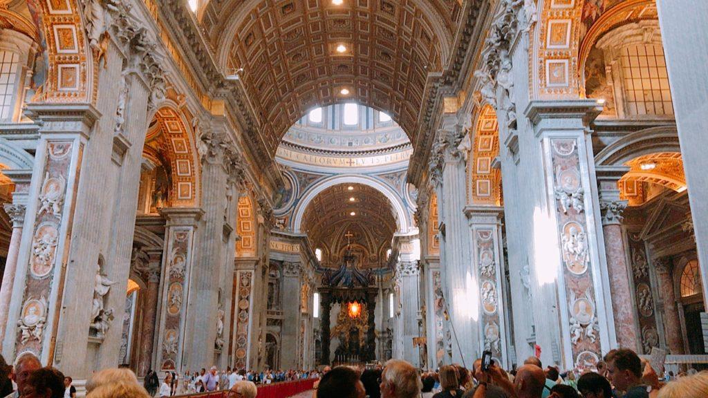 バチカン ヴァチカン サンピエトロ寺院 観光 行き方 平日