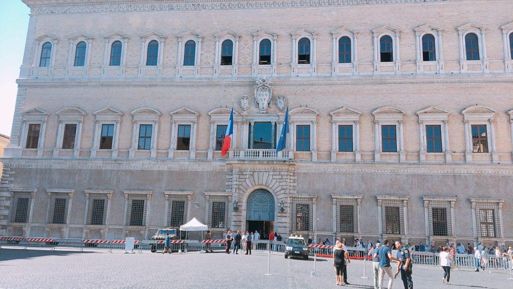 ローマ フランス大使館