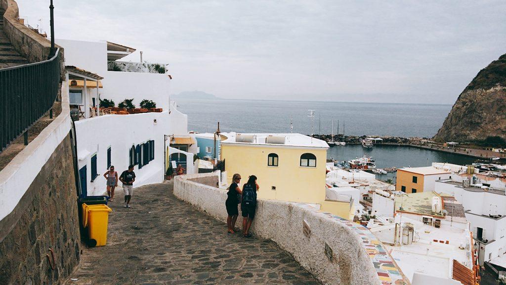イスキア島 散歩 景色